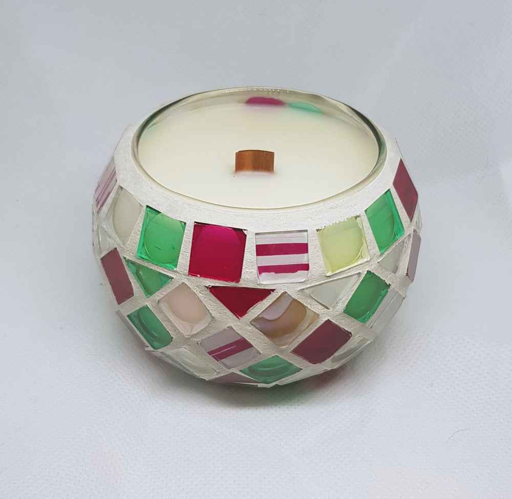 Image of Mosaic Candle