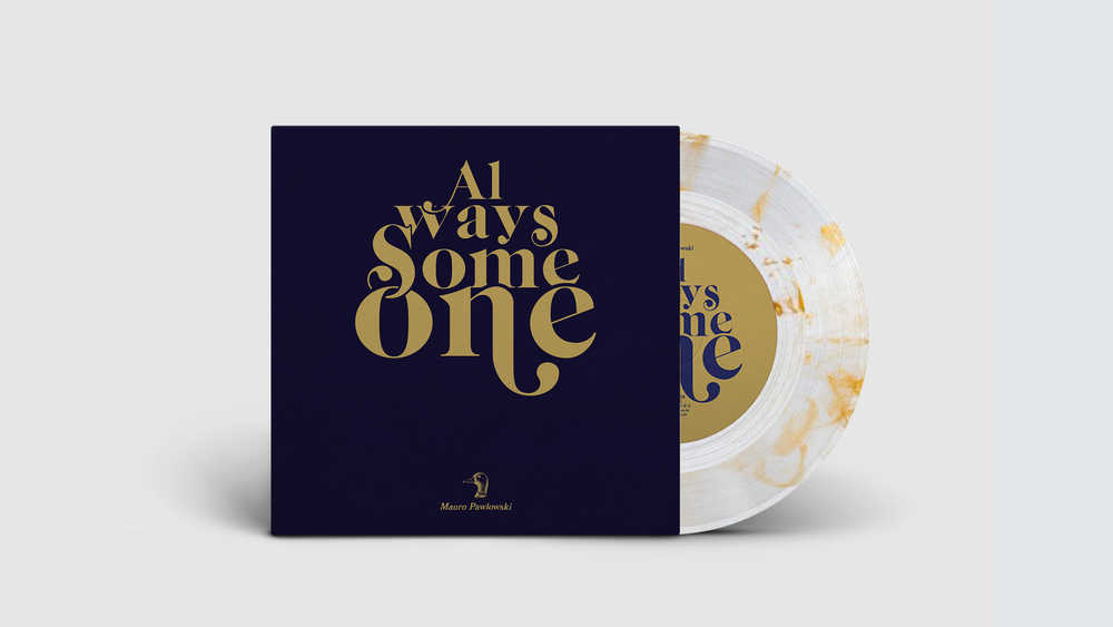 "Image of PRE-ORDER: MAURO PAWLOWSKI – ALWAYS SOMEONE / SPOTLIGHT (LIMITED 7"")"
