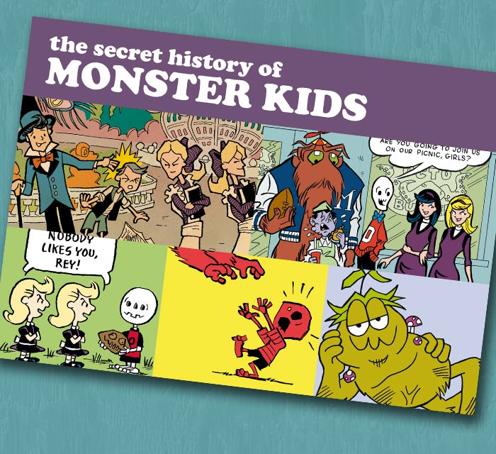 Image of The Secret History of Monster Kids