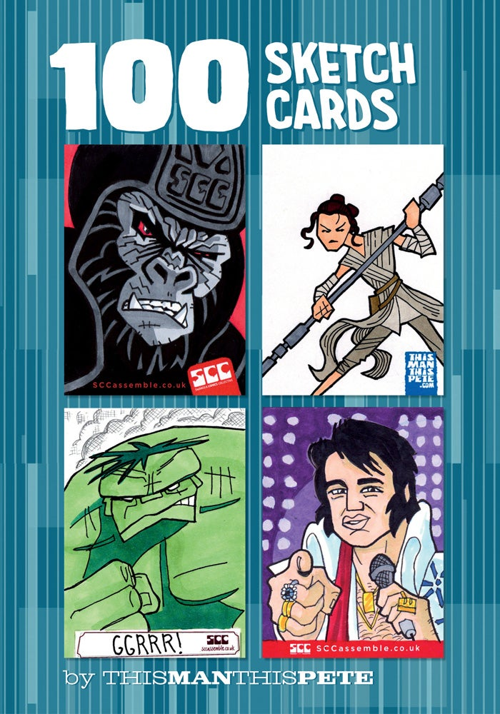 Image of 100 Sketch Cards