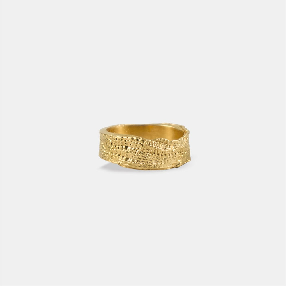Image of DARA RING / 24K GOLD-COATED SILVER