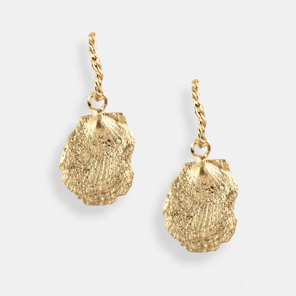 Image of SHEEBA EARRING / 24K GOLD-COATED SILVER
