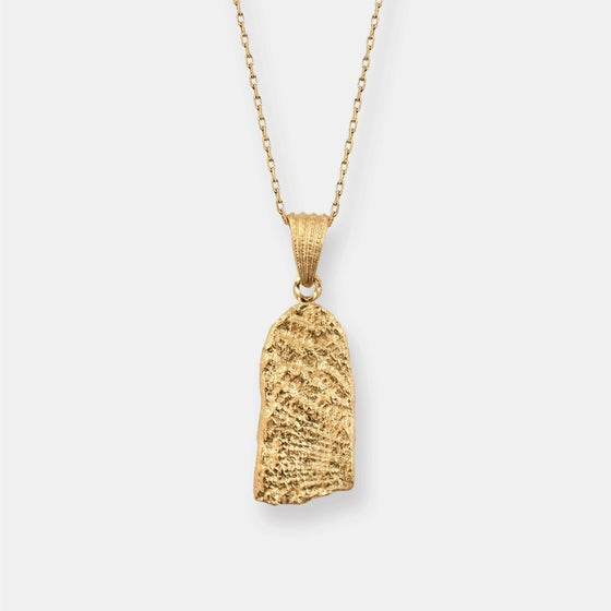 Image of Leah Necklace / 24k gold-coated silver