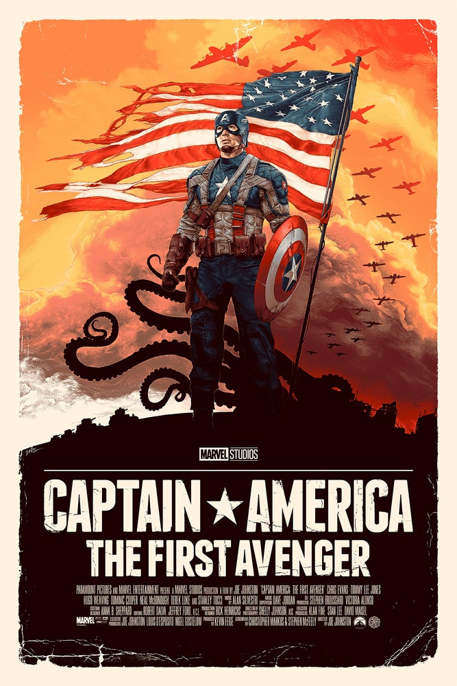 Image of Capt. America: The First Avenger Timed Regular