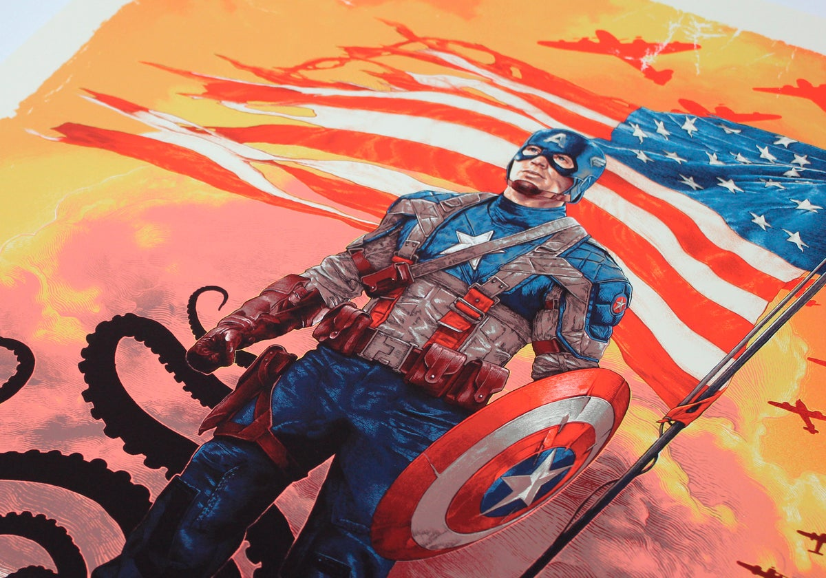 Image of Capt. America: The First Avenger Timed Regular