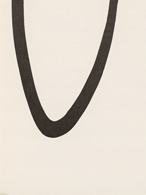 Image of Ellsworth Kelly, Derrière Le Miroir - Kelly No. 149, 1964 circle / rectangle