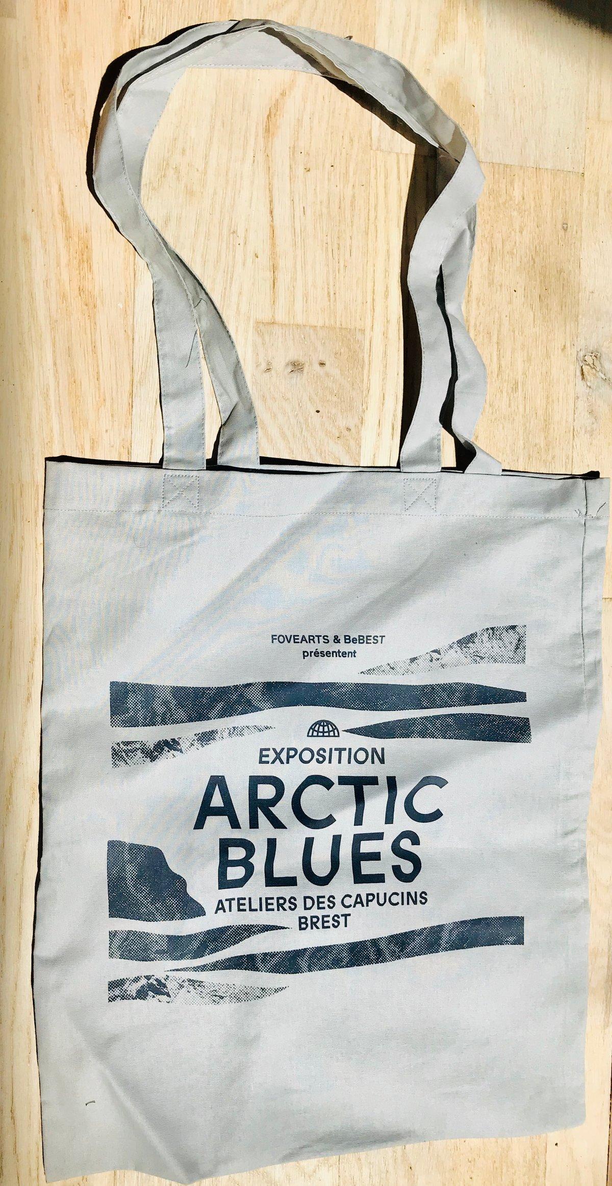 "Image of Tote bag ""Arctic Blues"""