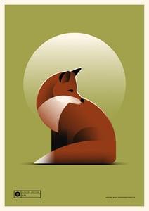 Image of Fox Artprint | Regular Version