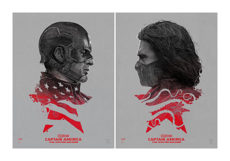 Image of Cap vs. Bucky Variant