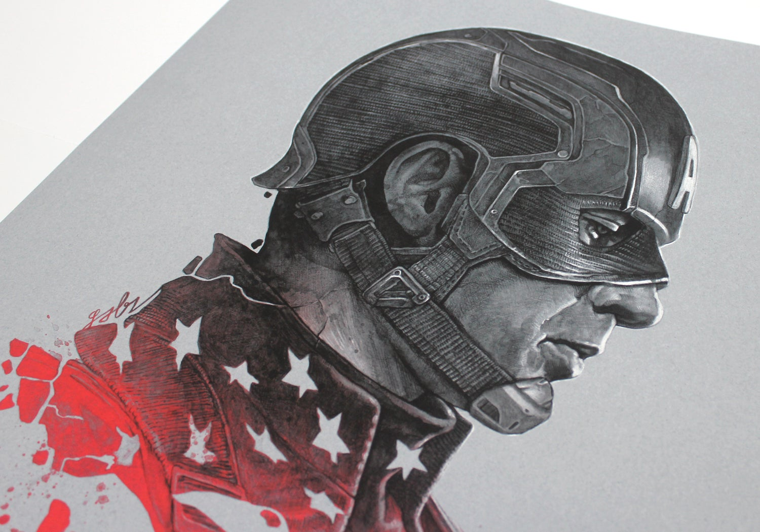 Image of Cap vs. Bucky Variant