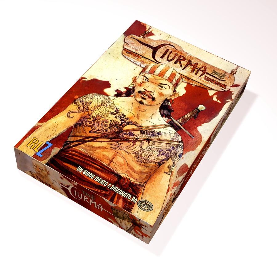 Image of CIURMA - ESPANSIONE DI GIOCO + Bustine protettive per tutte le carte