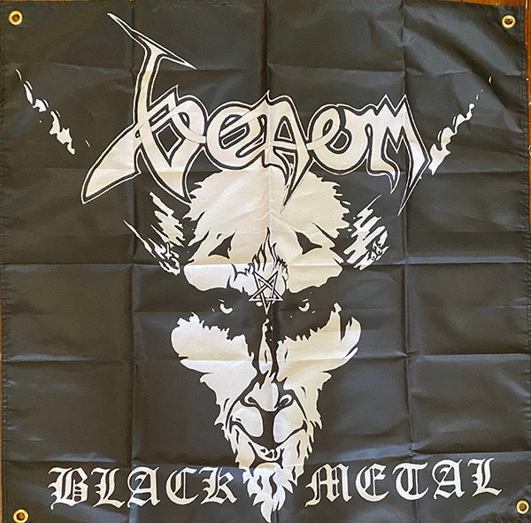 "Image of Venom "" Black Metal  ""  Banner / Tapestry / Flag"