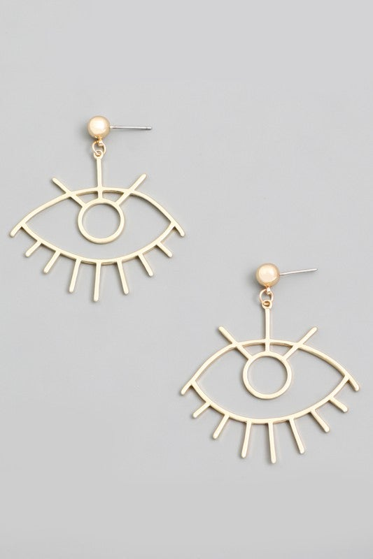 Image of Third eye earrings