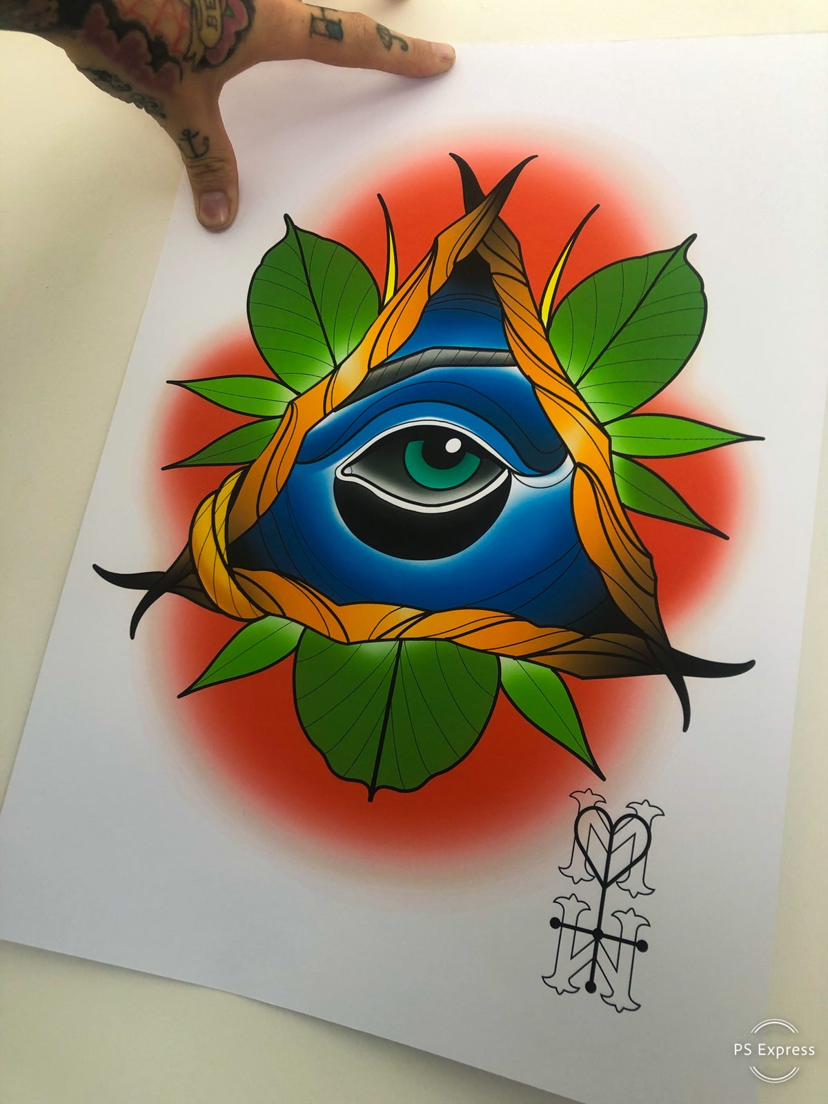 All Seeing Eye Print