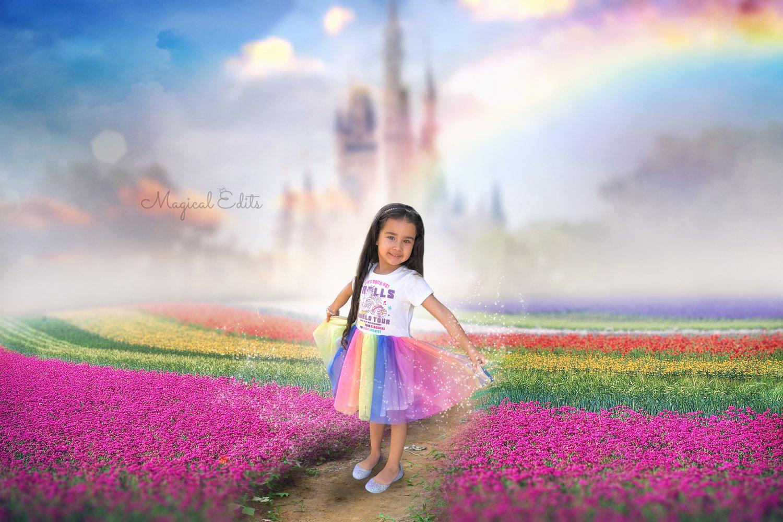 Image of Rainbow Castle Edit