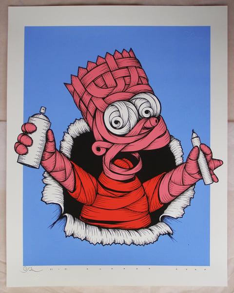 Image of Ribboned Bart - Pink Haze