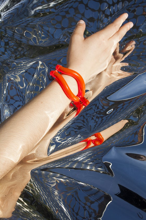 Image of ONDA BRACELET _ RED