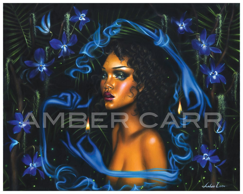 """Image of Night Orchid 11"""" x 14"""" print"""
