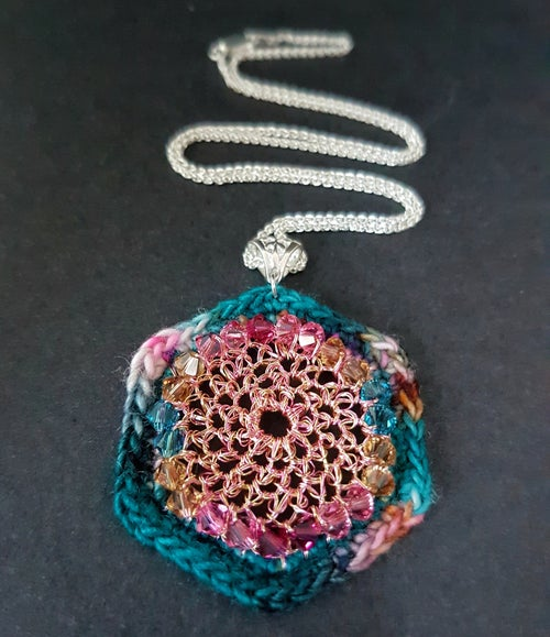 Image of ALCAZAR PENDANT - Turkish Delight