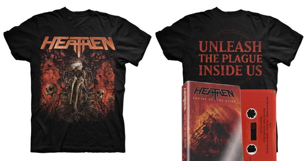 Image of Empire Of The Blind Cassette + T-Shirt (Bundle)