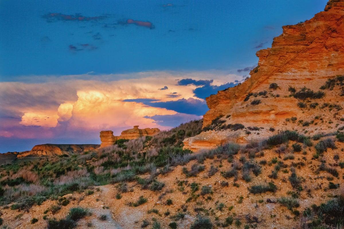 Image of Western Kansas Thunderstorm