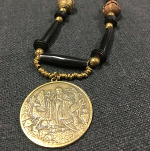 Image of Wise Sage/Dragon Protection Necklace