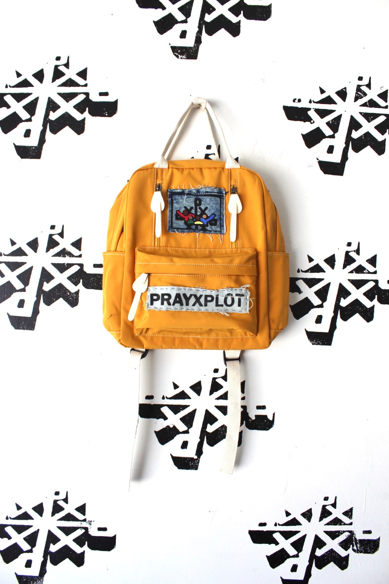 Image of get it together backpack in yellow