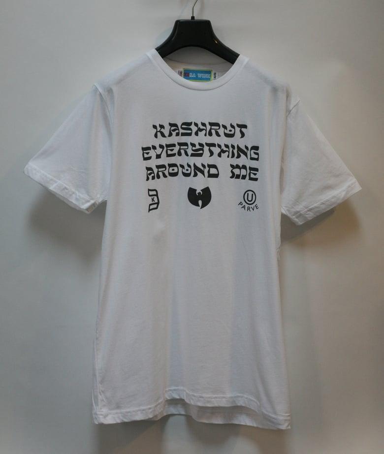Image of Kashrut Everything Around Me Tee Shirt