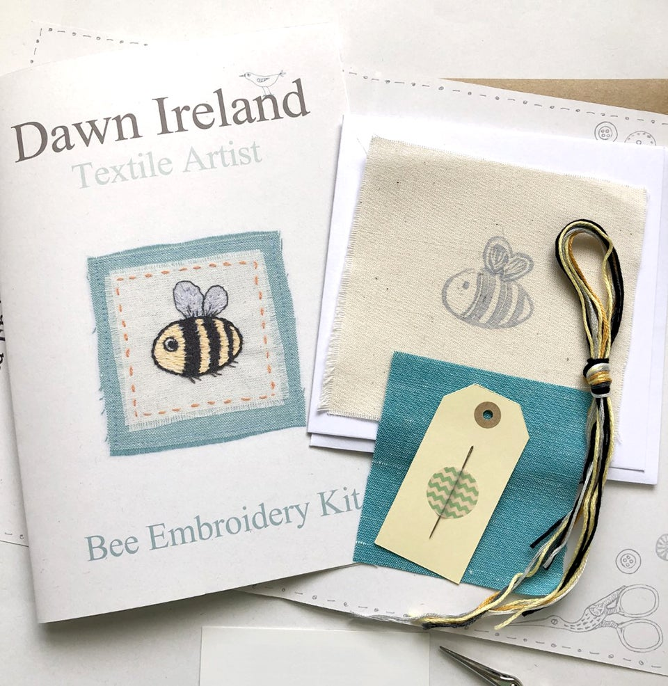 Bee Embroidery Kit