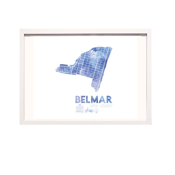 Image of Belmar NJ Art Print