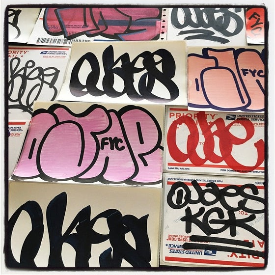 Image of OJAE FYC STICKER PACK