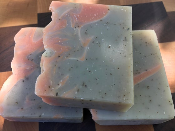 Image of Patchouli Orange Coconut Milk & Beer Soap