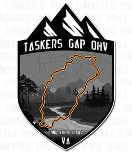 """Image of """"Tasker Gap OHV""""  Trail Badge"""