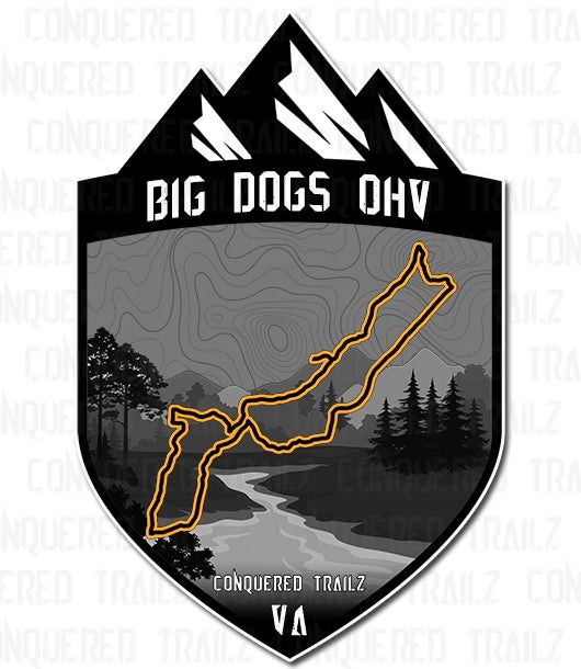 "Image of ""Big Dogs OHV"" Trail Badge"