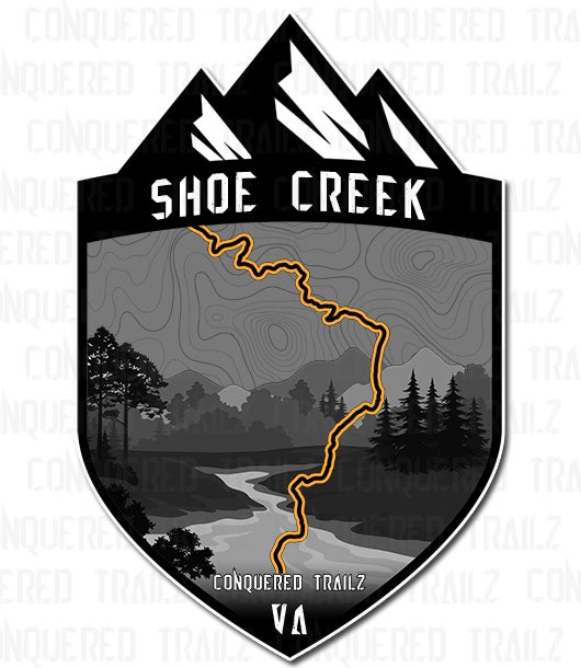 "Image of ""Shoe Creek"" Trail Badge"