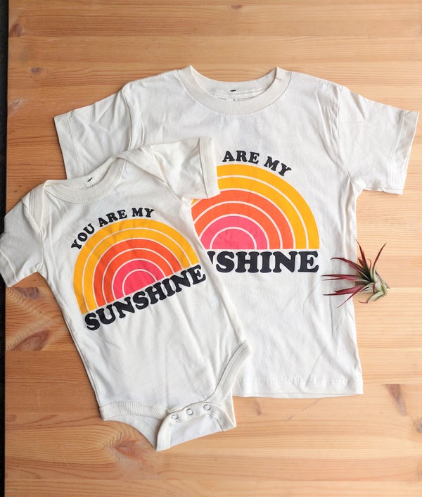 Image of You Are My Sunshine Onesie/Tee