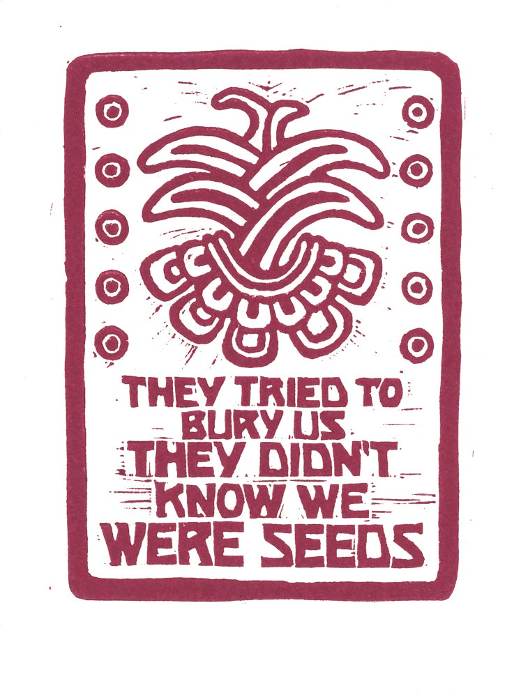 Image of They didn't know we were seeds (2020)