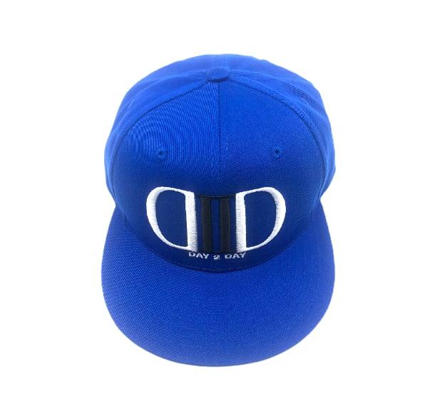Blue/Black/White SnapBack Hat