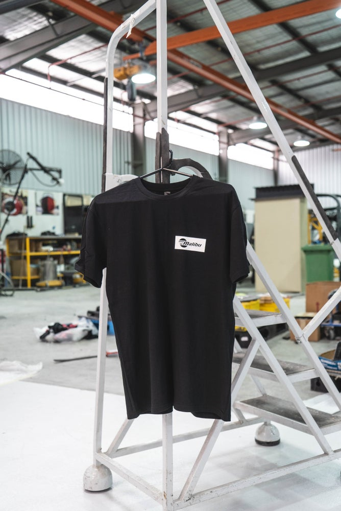 Image of NEW Malibu Premium Black Tee