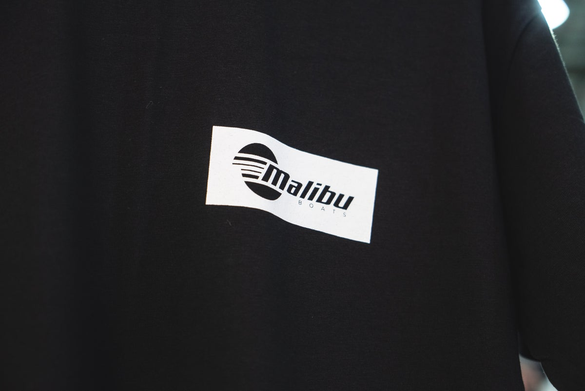 Image of Urban Malibu T-shirt - Black/White
