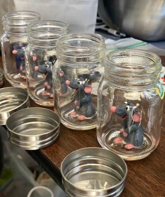 Image of Remy the Rat figurine- Ratatouille 🐀