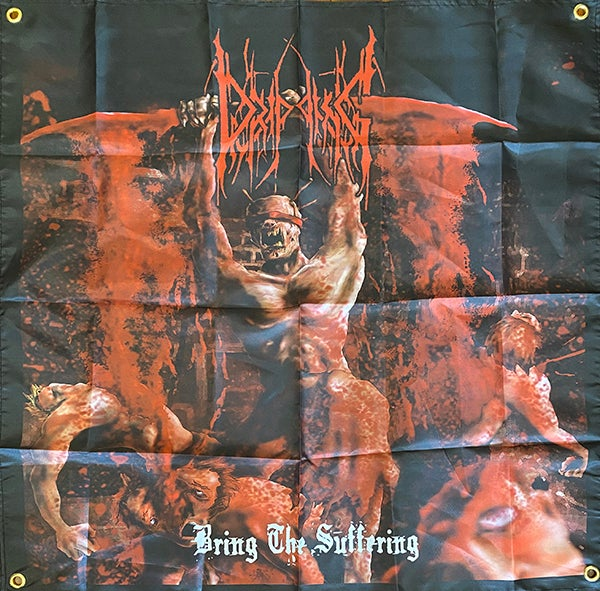 "Image of Dripping "" Bring The Suffering ""   Banner / Tapestry / Flag"