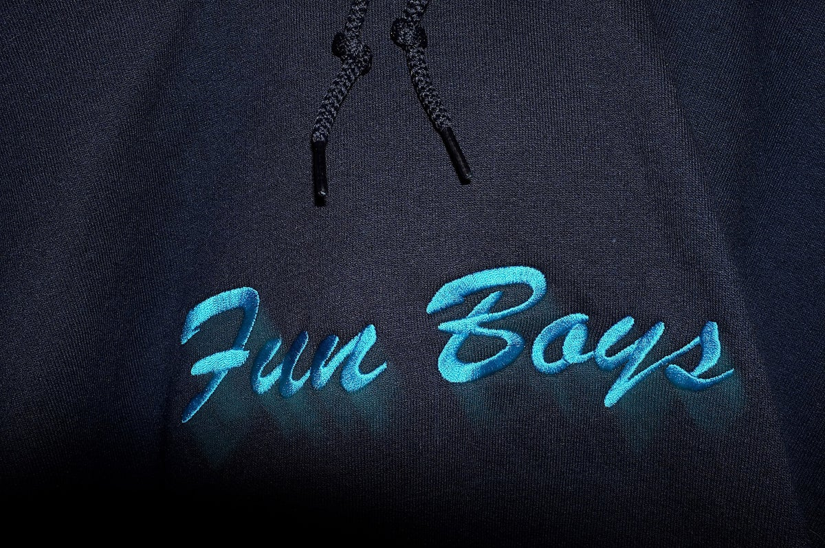 Image of Fun Boys Embroidered Hoodie