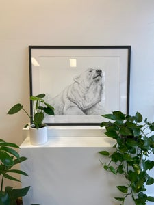 Image of Hopeful Riverie (Framed Print)