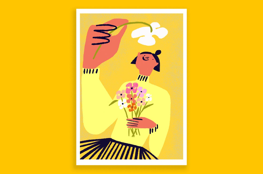 Image of Nothing But Flowers - A3 Archive Print