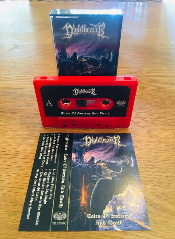 Image of Nightbearer • Tales of Sorcery and Death (Tape)