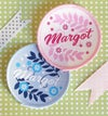 Personalised Name Patch - floral