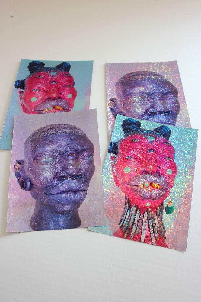 Image of Stargazers Holographic Prints POC series 2