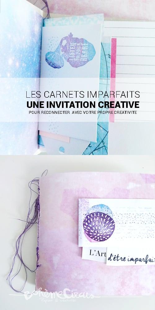Image of Les carnets imparfaits