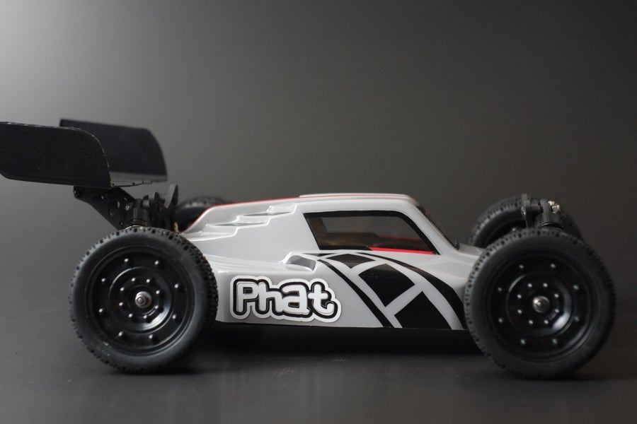 Image of PHAT BODIES 'ATAK' for LC racing EMB-1 Team Associated Reflex 14B and Losi Mini 8ight